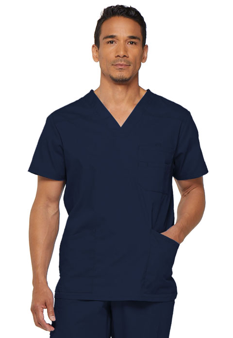 Dickies EDS Signature Men's V-Neck Top in Navy