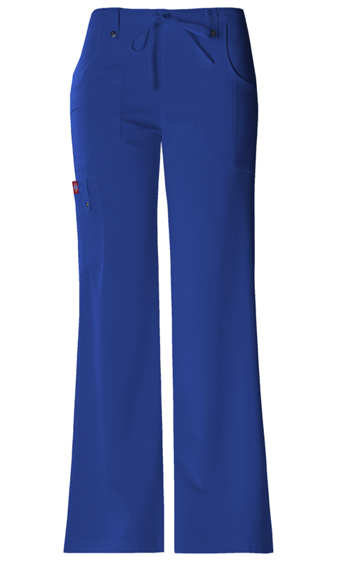 Dickies Xtreme Stretch Mid Rise Drawstring Cargo Pant in Galaxy Blue
