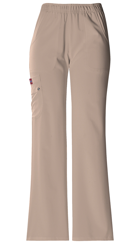 Xtreme Stretch Women's Mid Rise Pull-On Cargo Pant Khaki