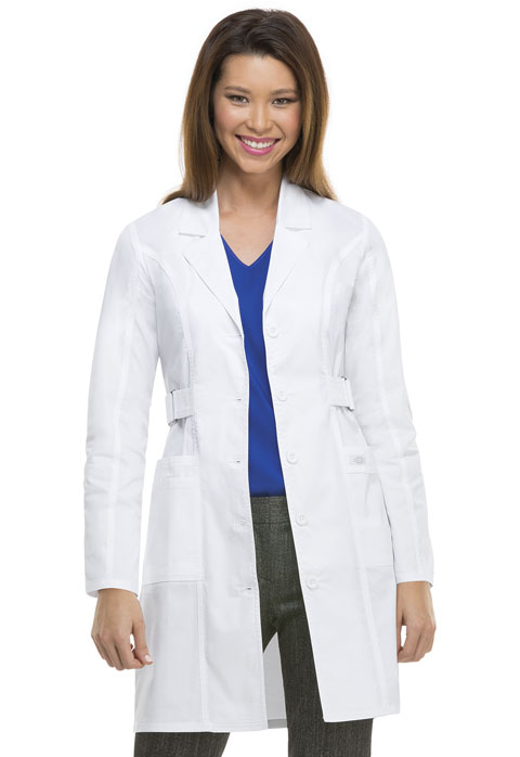 "Dickies Dickies Gen Flex Women's 36"" Lab Coat White"