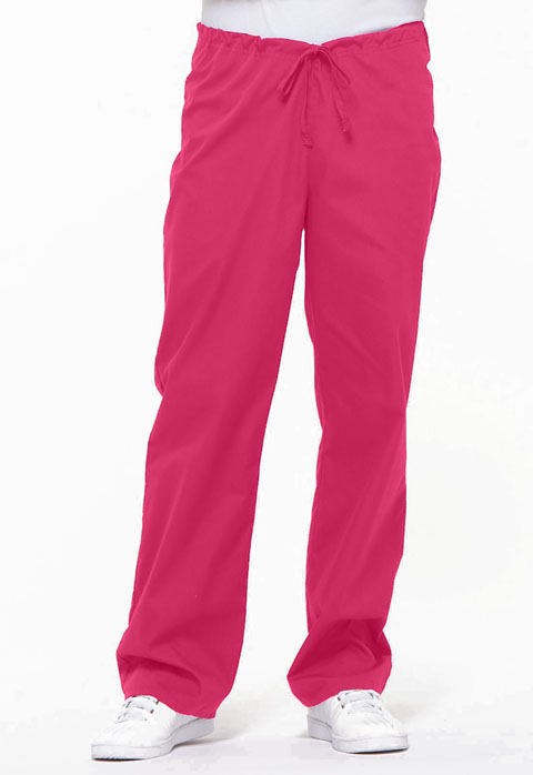 Dickies EDS Signature Unisex Drawstring Pant in Hot Pink