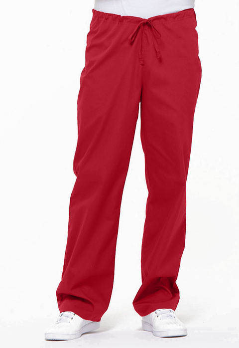 Dickies EDS Signature Unisex Drawstring Pant in Red