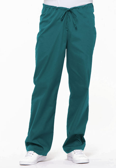 Dickies EDS Signature Unisex Drawstring Pant in Teal Blue