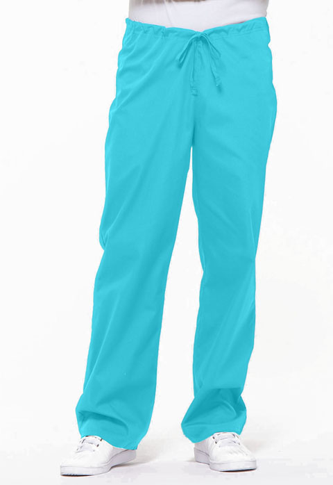 Dickies EDS Signature Unisex Drawstring Pant in Turquoise