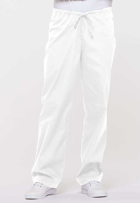 Dickies EDS Signature Unisex Drawstring Pant in White