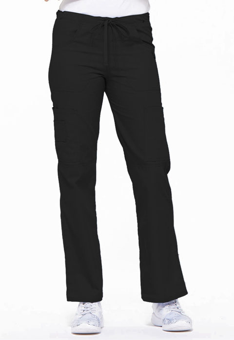 Dickies EDS Signature Low Rise Drawstring Cargo Pant in Black