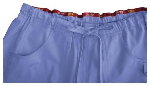 Dickies Dickies EDS Signature Women's Low Rise Drawstring Cargo Pant Blue