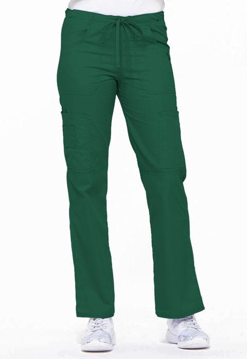 Dickies EDS Signature Women's Low Rise Drawstring Cargo Pant Green