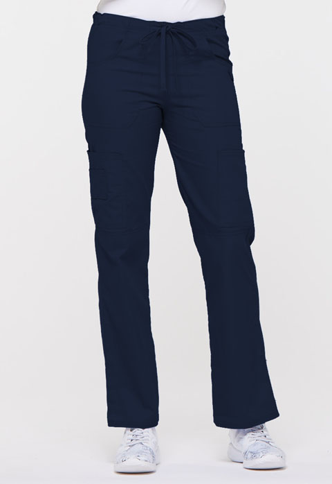 Dickies EDS Signature Low Rise Drawstring Cargo Pant in Navy