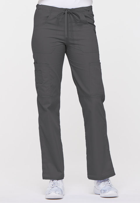 Dickies EDS Signature Low Rise Drawstring Cargo Pant in Pewter