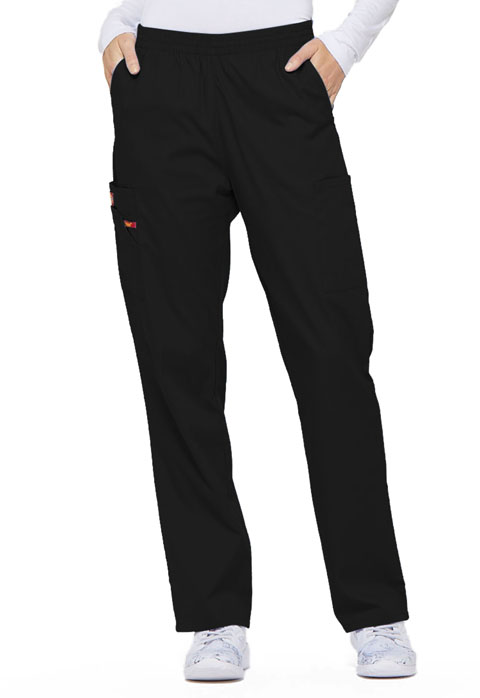 Dickies EDS Signature Natural Rise Tapered Leg Pull-On Pant in Black