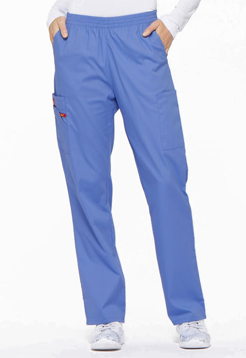 Dickies EDS Signature Natural Rise Tapered Leg Pull-On Pant in Ciel
