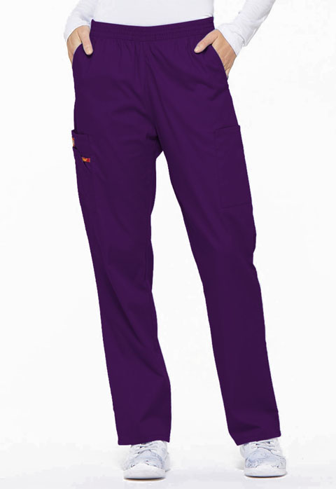 Dickies EDS Signature Natural Rise Tapered Leg Pull-On Pant in Eggplant