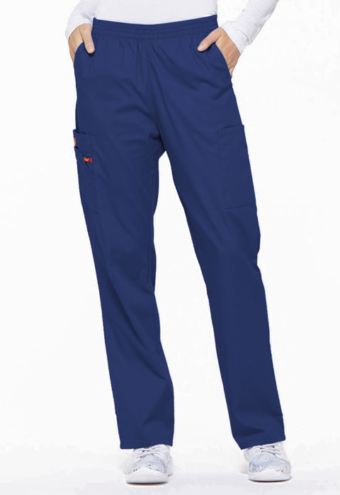 Dickies EDS Signature Natural Rise Tapered Leg Pull-On Pant in Galaxy Blue