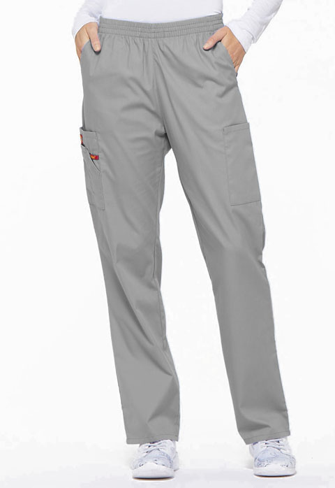 Dickies EDS Signature Natural Rise Tapered Leg Pull-On Pant in Grey
