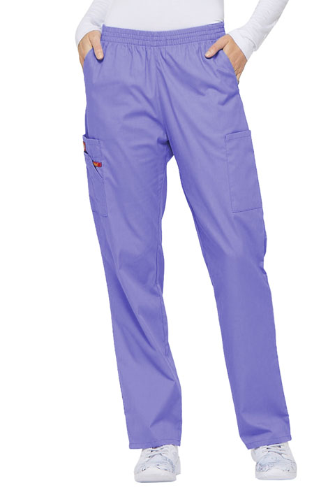 Dickies EDS Signature Natural Rise Tapered Leg Pull-On Pant in Lavender Freesia