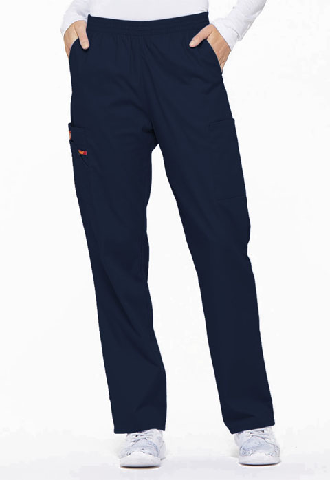 Dickies EDS Signature Natural Rise Tapered Leg Pull-On Pant in Navy
