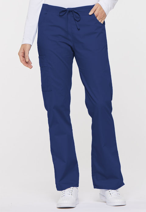 Dickies EDS Signature Mid Rise Drawstring Cargo Pant in Galaxy Blue