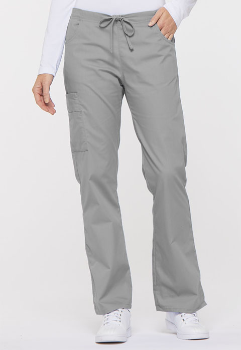 Dickies EDS Signature Mid Rise Drawstring Cargo Pant in Grey
