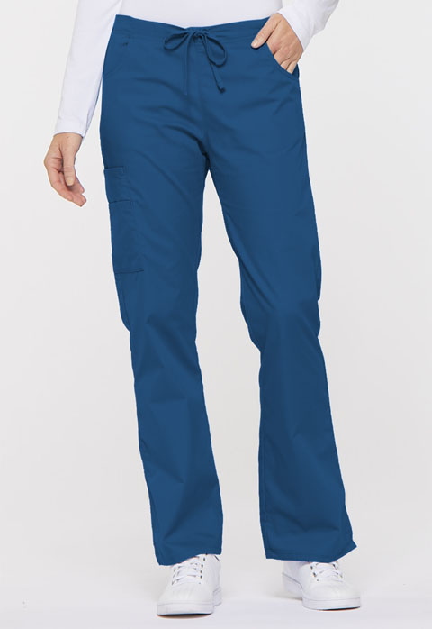 Dickies EDS Signature Mid Rise Drawstring Cargo Pant in Royal