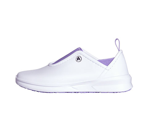 Anywear Women BLAZE White with Lavender Details
