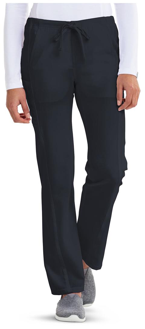 Careisma Careisma Fearless Women's Low Rise Straight Leg Drawstring Pant Gray