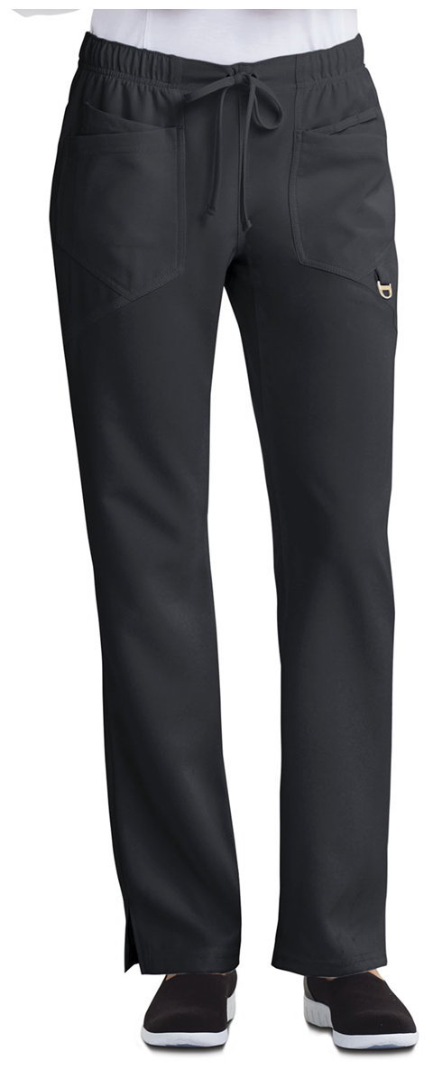 Careisma Careisma Charming Women's Low Rise Straight Leg Drawstring Pant Black