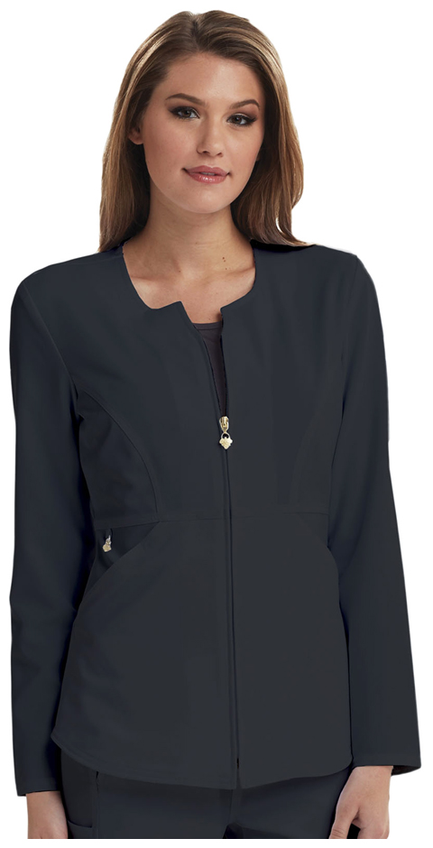 Careisma Careisma Fearless Women's Zip Front Jacket Gray