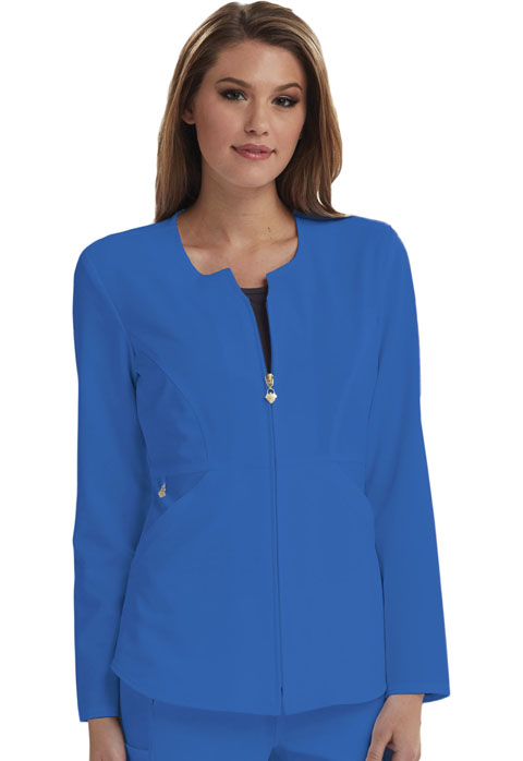 Careisma Careisma Fearless Women's Zip Front Jacket Blue