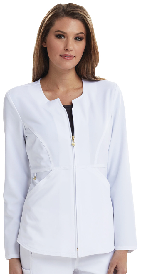 Careisma Careisma Fearless Women's Zip Front Jacket White