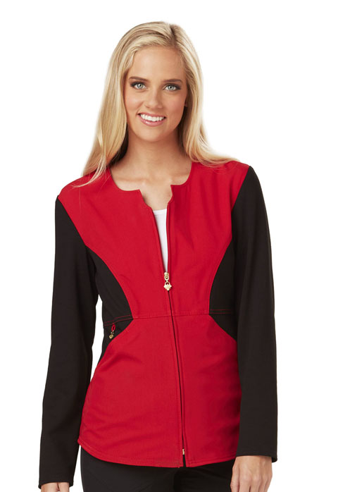 Careisma Fearless Women's Zip Front Jacket Red