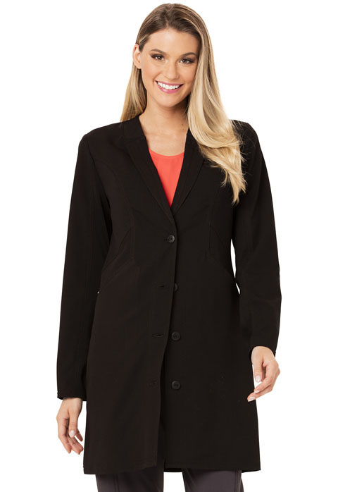 "Careisma Careisma Fearless Women's 33"" Lab Coat Black"