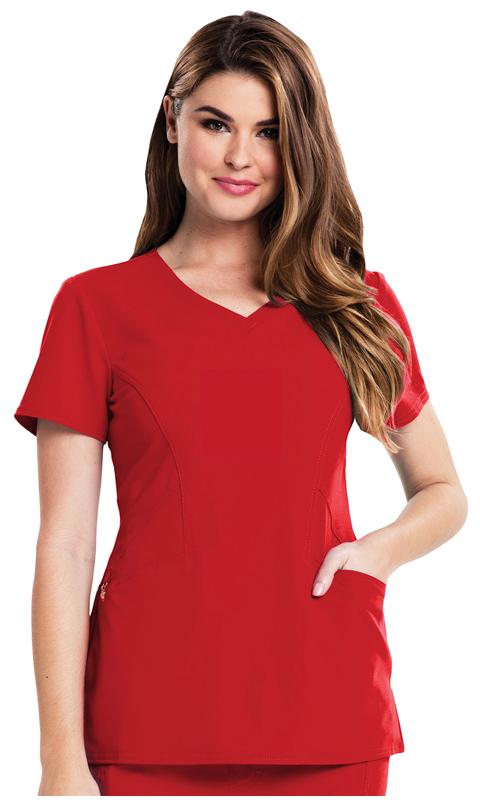 Careisma Careisma Fearless Women's V-Neck Top Red