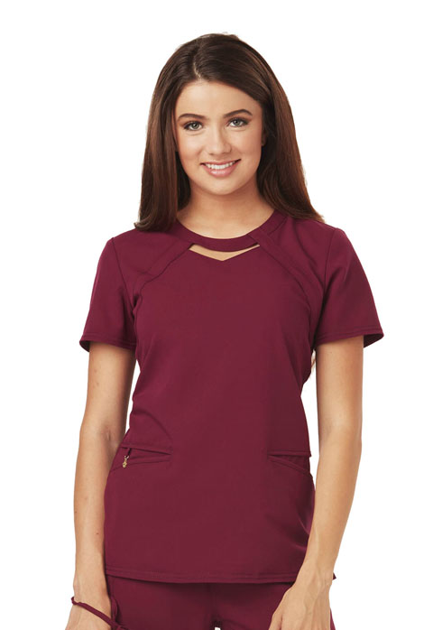 Careisma Careisma Fearless Women's Round Neck Top Red