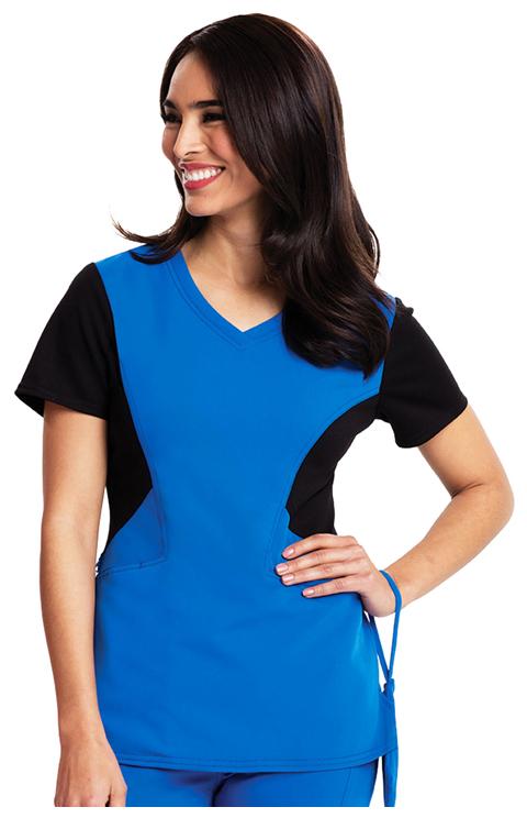 Careisma Careisma Fearless Women's V-Neck Top Blue