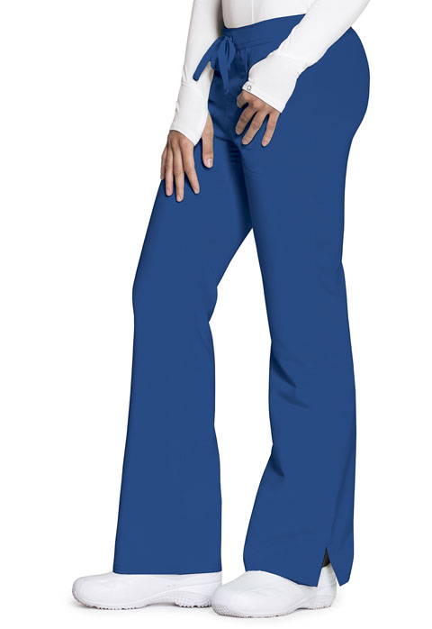 Code Happy Code Happy Cloud Nine Women's Mid Rise Moderate Flare Leg Pant Blue