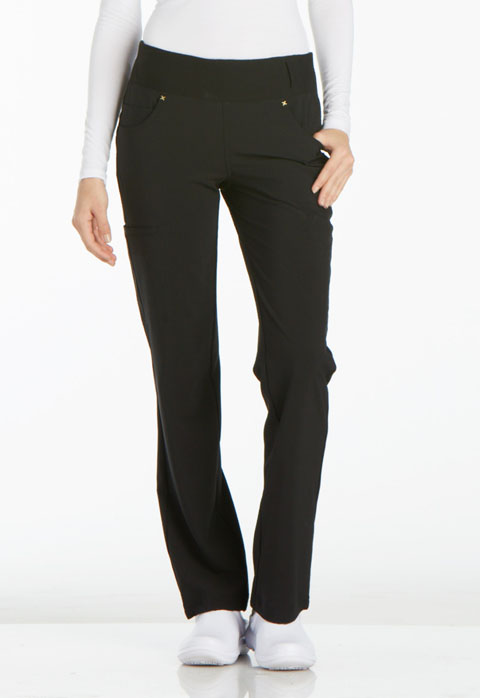 iFlexMid Rise Straight Leg Pull-on Pant