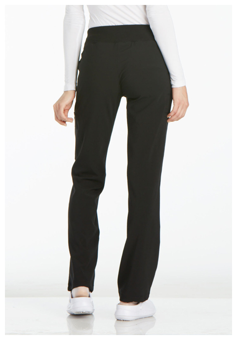 Photograph of Mid Rise Straight Leg Pull-on Pant