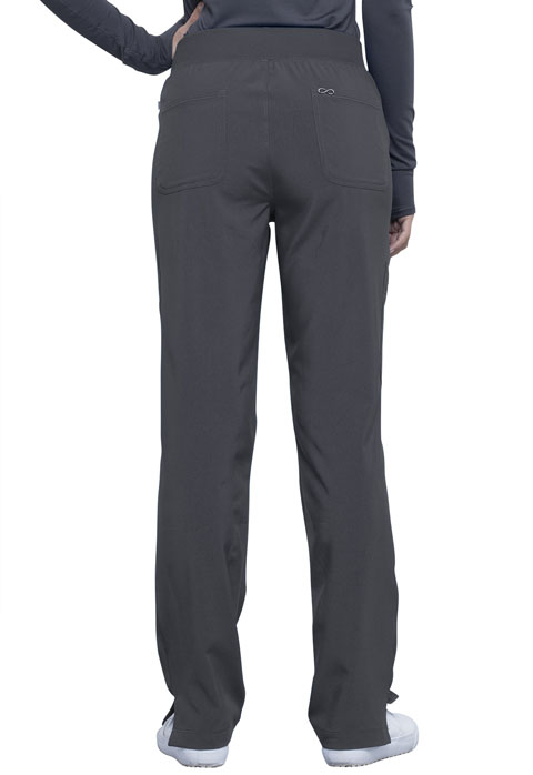 Photograph of Mid Rise Tapered Leg Pull-on Pant