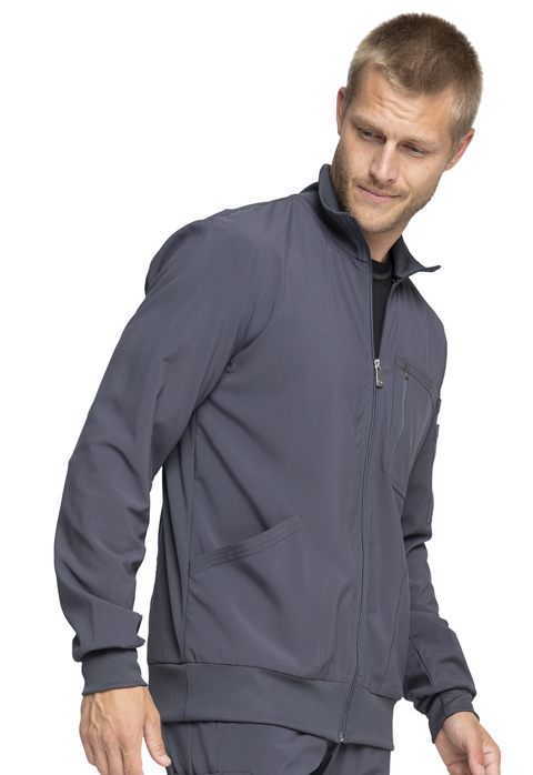 Photograph of Men's Zip Front Warm-up Jacket