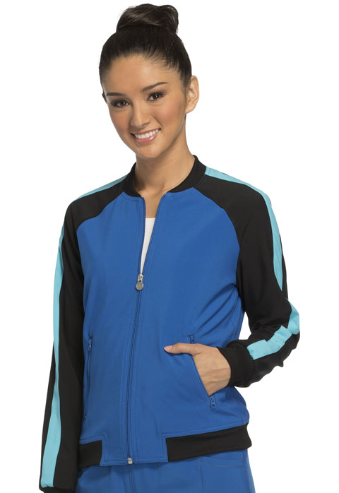 Photograph of Zip Front Warm-up Jacket