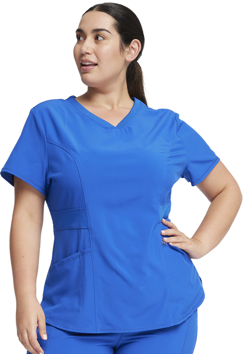 49fc88f481a Infinity V-Neck Top in Royal CK623A-RYPS from Cherokee Scrubs at ...