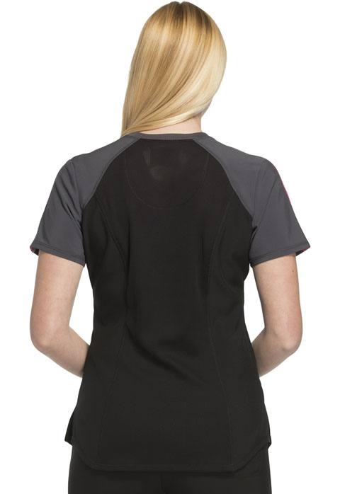 Photograph of Colorblock V-Neck Top