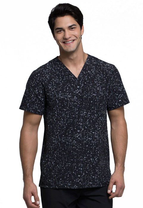 InfinityMen's V-Neck Top