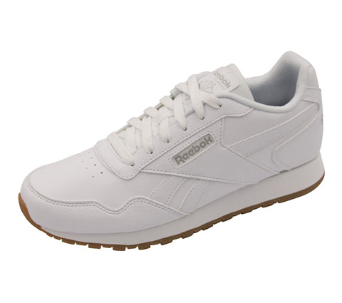 Reebok Women's CLASSICHARMAN White, Steel, Gum