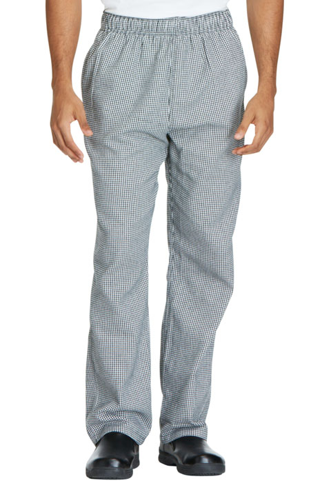 Dickies Chef Unisex Traditional Baggy 3 Pocket Pant in Houndstooth