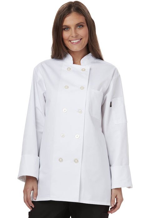 Dickies Chef Women's Women's Classic Chef Coat White