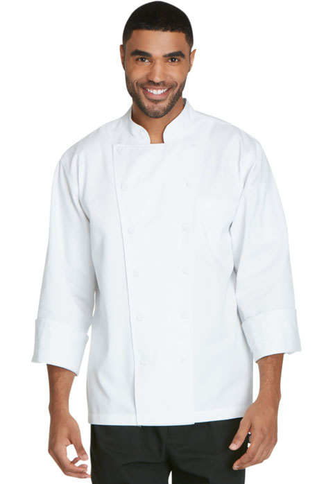 Dickies Chef Unisex Executive Chef Coat in White