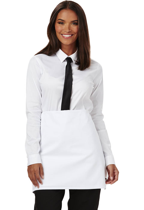 Dickies Chef Four-Way Waist Apron in White
