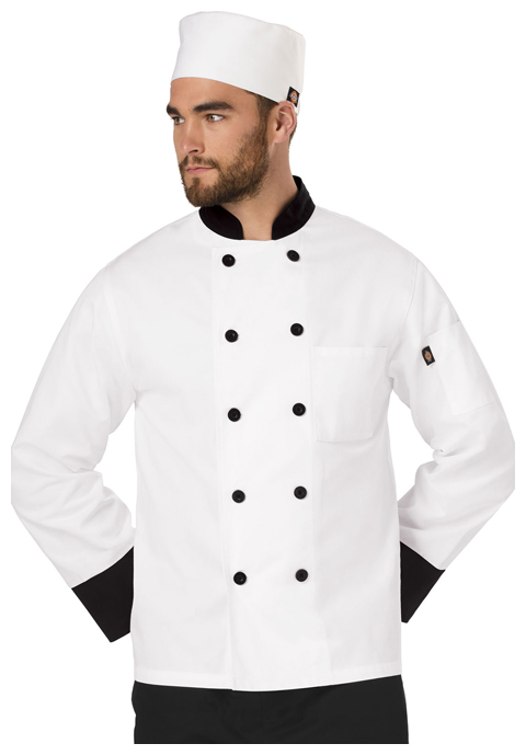 Dickies Chef Elastic Chef Beanie in White